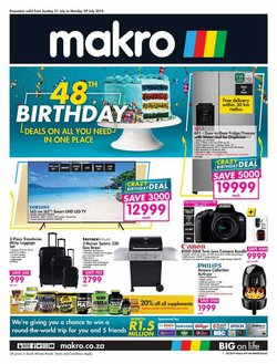 Electronics & Home Appliances offers in the Makro catalogue in Cape Town