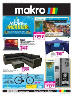 Electronics & Home Appliances offers in the Makro catalogue in Port Elizabeth