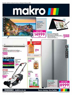 Makro deals in the Johannesburg special