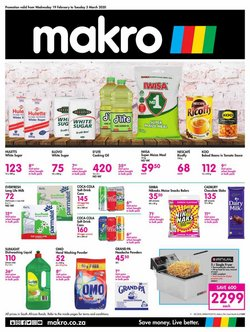 Sunflower oil specials in Makro
