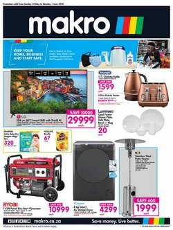 Electronics & Home Appliances offers in the Makro catalogue in Randburg ( 3 days left )