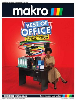 Electronics & Home Appliances offers in the Makro catalogue in Randburg ( 1 day ago )