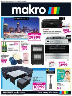 Gas stove specials in Makro
