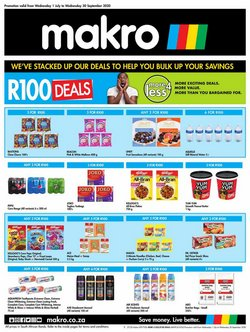 Makro catalogue in Cape Town ( More than a month )