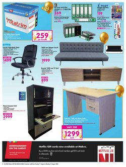Chairs specials in Makro