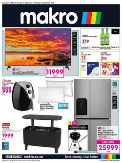 Electronics & Home Appliances offers in the Makro catalogue in Pretoria ( 3 days ago )