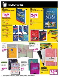 Dictionaries specials in Makro