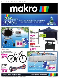Makro offers in the Makro catalogue ( Published today)