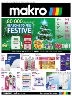 Makro offers in the Makro catalogue ( Expired)