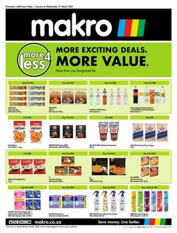 Makro catalogue in Cape Town ( 14 days left )