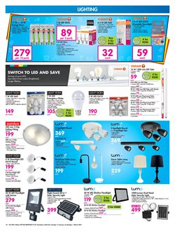 Lamp specials in Makro