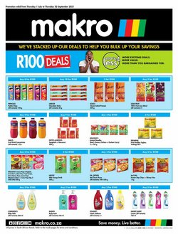 Electronics & Home Appliances offers in the Makro catalogue ( 5 days left)