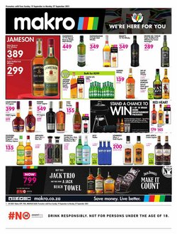 Groceries offers in the Makro catalogue ( 2 days left)
