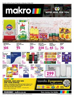 Groceries offers in the Makro catalogue ( 1 day ago)