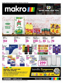 Makro offers in the Makro catalogue ( Expires tomorrow)