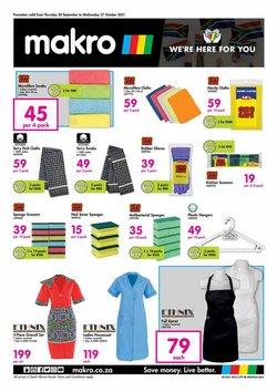 Makro offers in the Makro catalogue ( 10 days left)