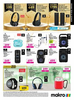 Honda offers in the Makro catalogue ( More than a month)