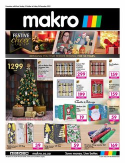 Makro offers in the Makro catalogue ( More than a month)