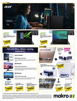 Samsung offers in the Makro catalogue ( Published today)