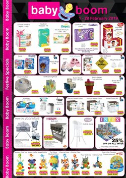 Baby shoes offers in the Baby Boom catalogue in Cape Town