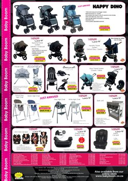 Stroller offers in the Baby Boom catalogue in Cape Town