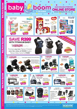 Babies, Kids & Toys offers in the Baby Boom catalogue in Cape Town