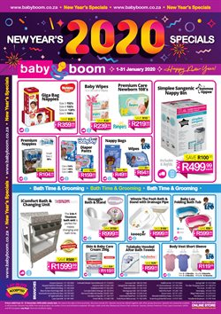 Baby Boom deals in the Cape Town special
