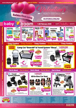 Babies, Kids & Toys offers in the Baby Boom catalogue in Johannesburg ( 3 days left )