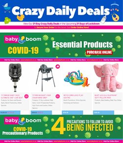 Babies, Kids & Toys offers in the Baby Boom catalogue in Soweto ( 16 days left )