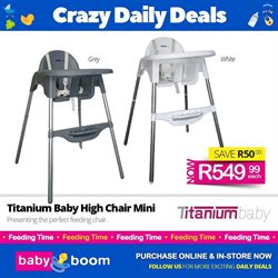 Babies, Kids & Toys offers in the Baby Boom catalogue in Vereeniging ( 2 days ago )
