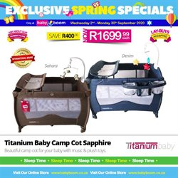 Babies, Kids & Toys offers in the Baby Boom catalogue in Durban ( 4 days left )