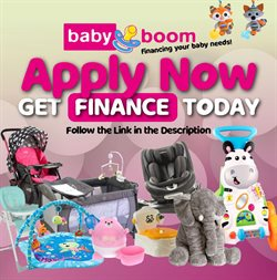 Babies, Kids & Toys offers in the Baby Boom catalogue in Cape Town ( 4 days left )