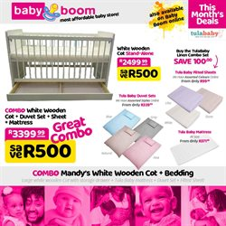 Babies, Kids & Toys offers in the Baby Boom catalogue in Pretoria ( Expires today )