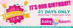 Baby Boom deals in the Pretoria special
