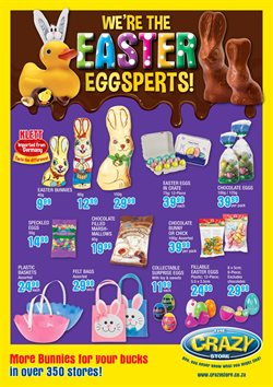 Toys & babies offers in the The Crazy Store catalogue in Cape Town