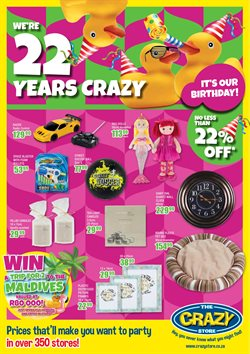 The Crazy Store deals in the Pretoria special