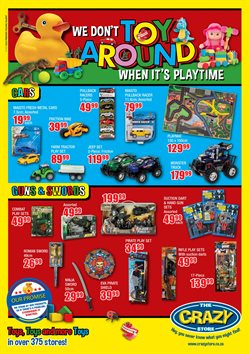 Babies, Kids & Toys offers in the The Crazy Store catalogue in Soweto