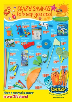 Babies, Kids & Toys offers in the The Crazy Store catalogue in Cape Town