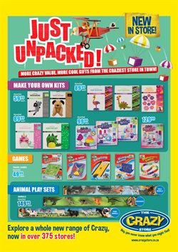 Babies, Kids & Toys offers in the The Crazy Store catalogue in Johannesburg ( 2 days ago )