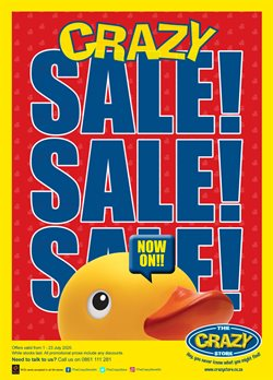 Babies, Kids & Toys offers in the The Crazy Store catalogue in Vereeniging ( 18 days left )