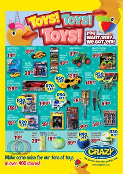 Babies, Kids & Toys offers in the The Crazy Store catalogue ( 8 days left )