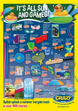 Babies, Kids & Toys offers in the The Crazy Store catalogue in Cape Town ( 15 days left )
