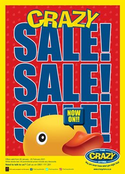 Babies, Kids & Toys offers in the The Crazy Store catalogue in Johannesburg ( Expires tomorrow )