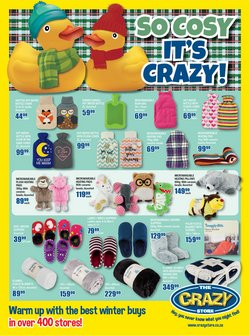 Babies, Kids & Toys offers in the The Crazy Store catalogue ( 11 days left)