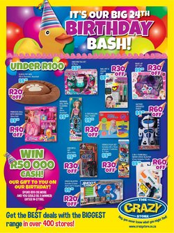 Babies, Kids & Toys offers in the The Crazy Store catalogue ( 22 days left)