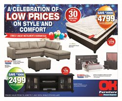 Home & Furniture offers in the OK Furniture catalogue in Khayelitsha