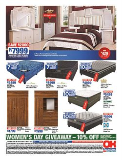 Wardrobe offers in the OK Furniture catalogue in Cape Town