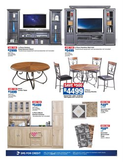 Table offers in the OK Furniture catalogue in Cape Town
