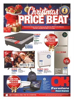 Home & Furniture offers in the OK Furniture catalogue in Johannesburg