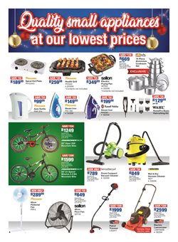 Sports offers in the OK Furniture catalogue in Cape Town